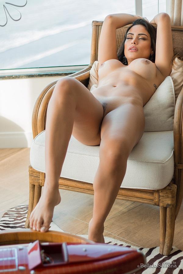 Brunette alma nice boobs - 1 part 2