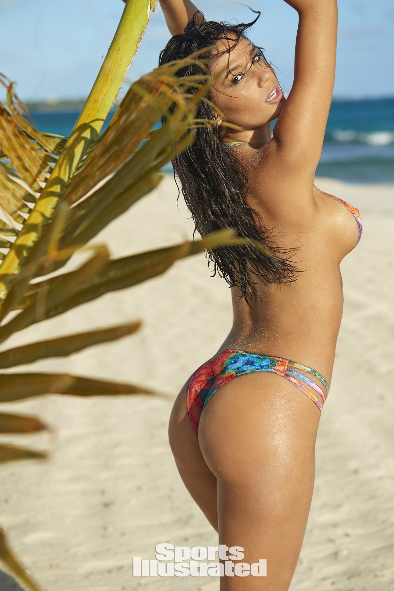 anne de paula hot bodypaint in sports illustrated swimsuit issue