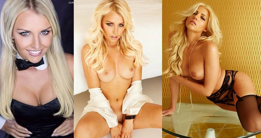 Denise Cotte - Supermodel Naked  Playboy