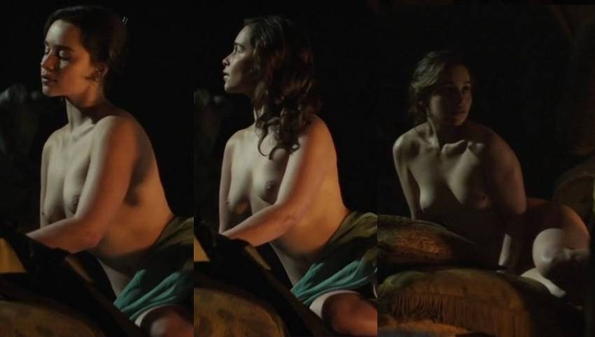 "Emilia Clarke – ""Voice From the Stone"" Topless"
