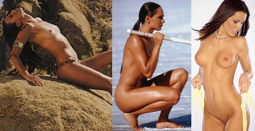 Sexy Athletes in Hot Nude Photoshoots
