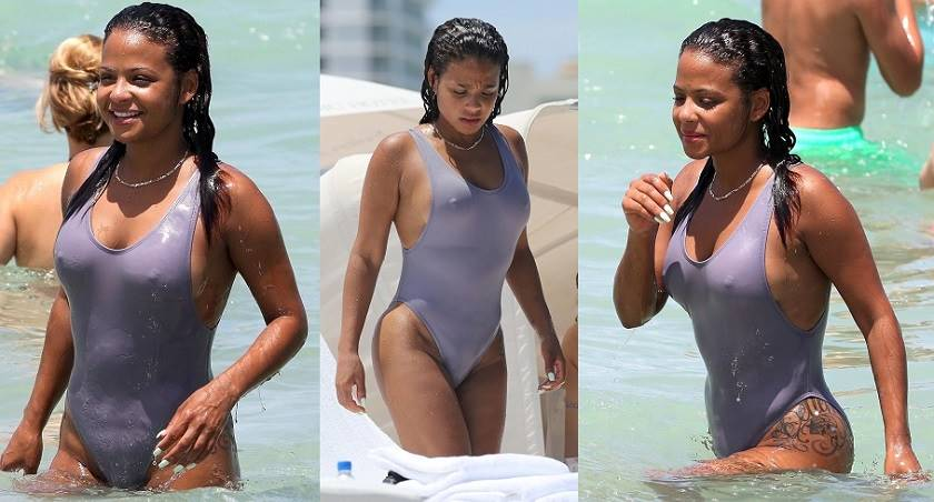 Christina Milian – Swimsuit