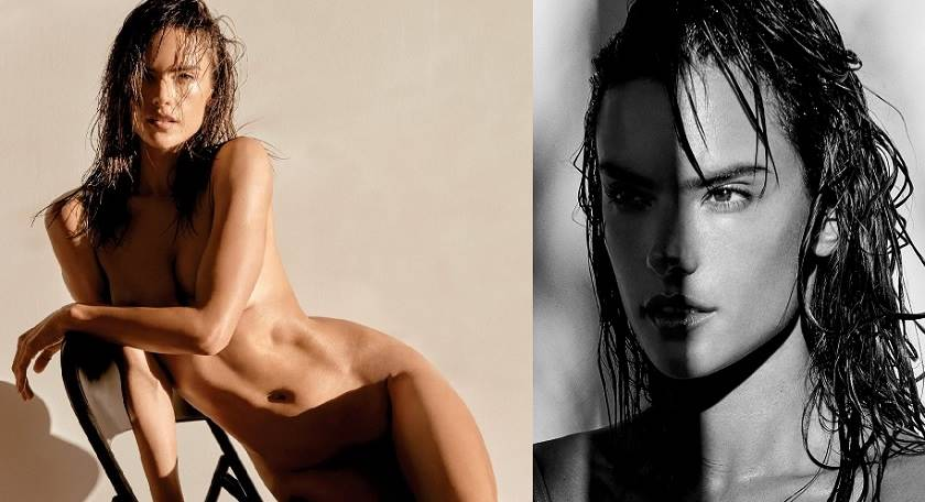 Alessandra Ambrosio – Naked for Narcisse Magazine