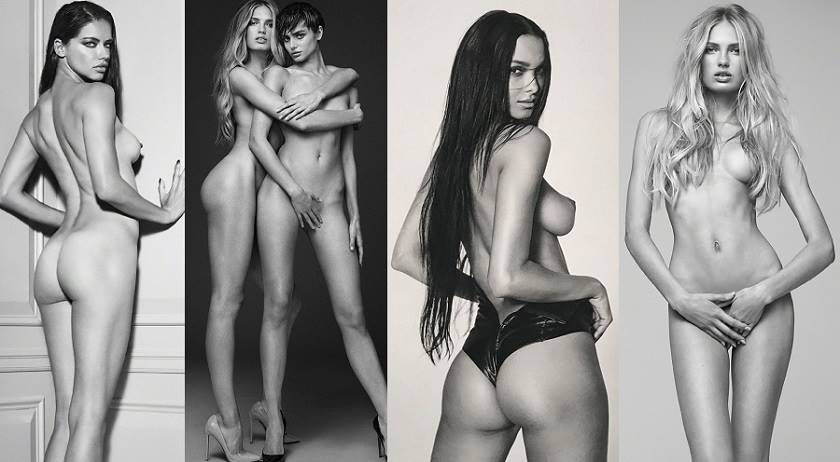 "Adriana Lima, Candice Swanepoel, Lais Ribeiro, Sara Sampaio and Hot  Supermodels – ""Angels"" Naked Photoshoot by Russell James"