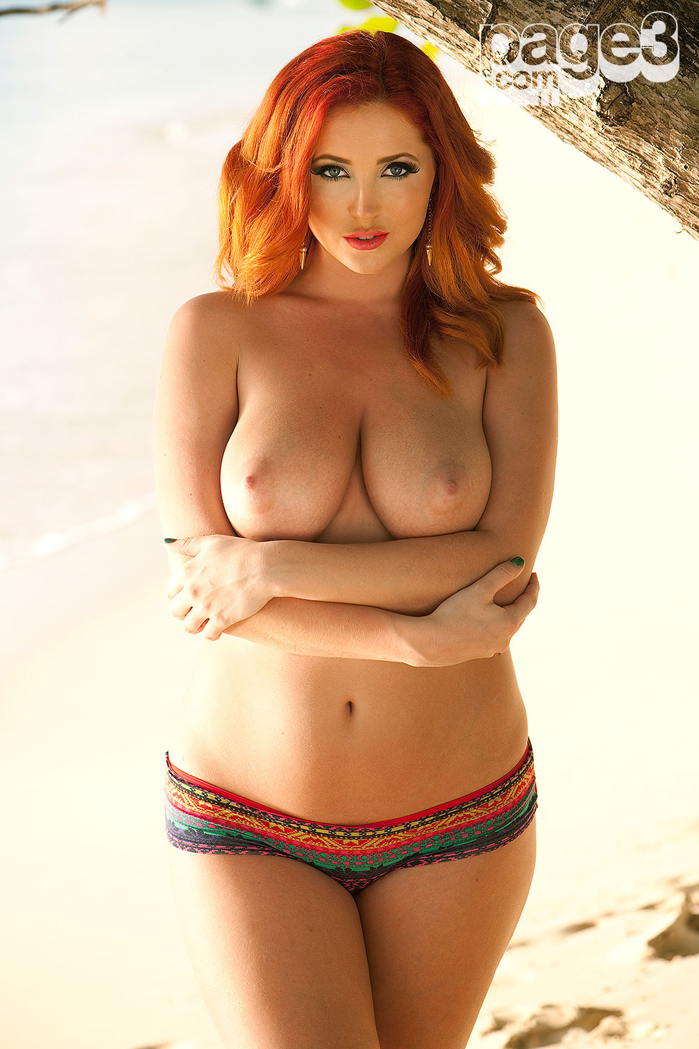 Tracey coleman topless photoshoot 8