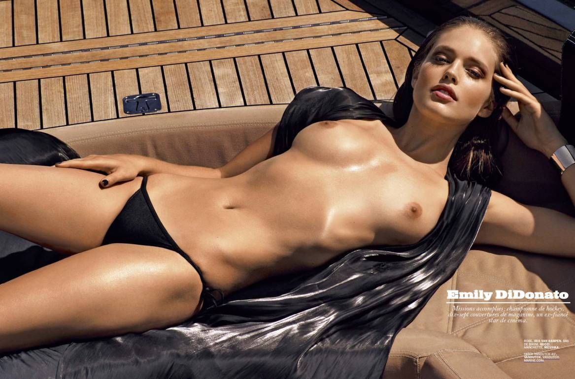 emily didonato and magdalena frackowiak topless in lui magazine july
