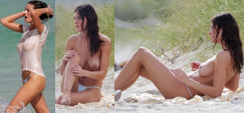 undressing women at beach