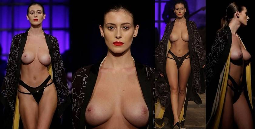 naked topmodels in catwalk   hotcelebrities vk