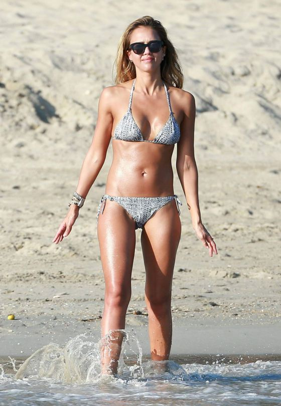 Were visited Jessica alba in cabo excellent answer