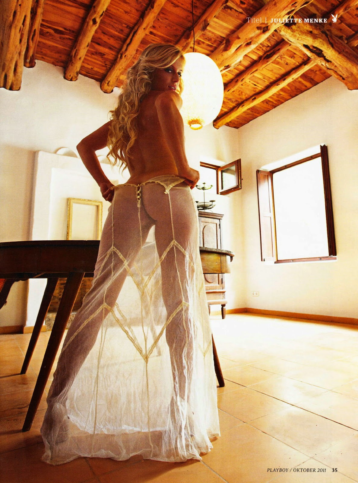 Juliette Menke - German Soap Star Naked in Playboy! (24 pics)