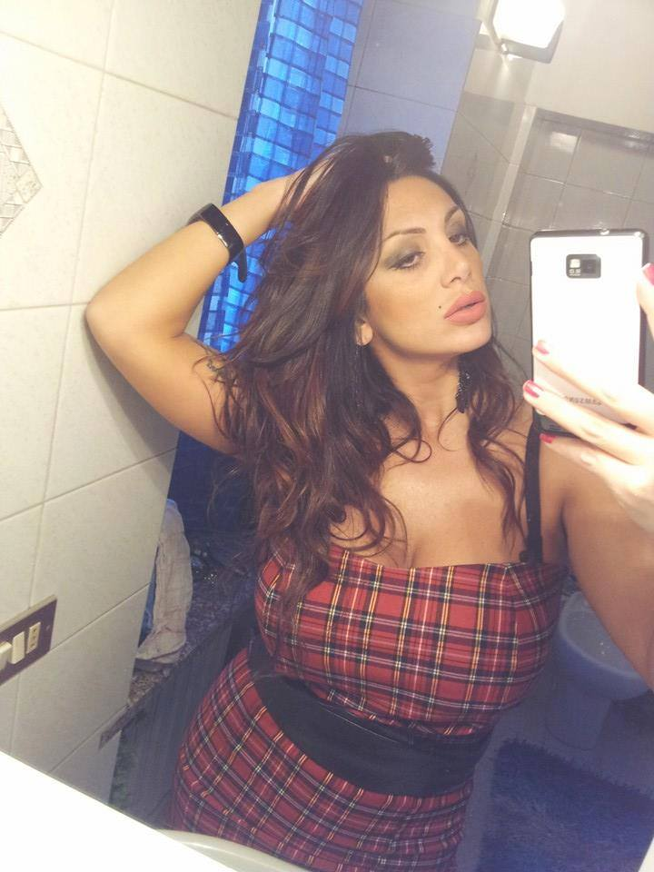 Marika Fruscio - Hot Babe in Topless SelfShots