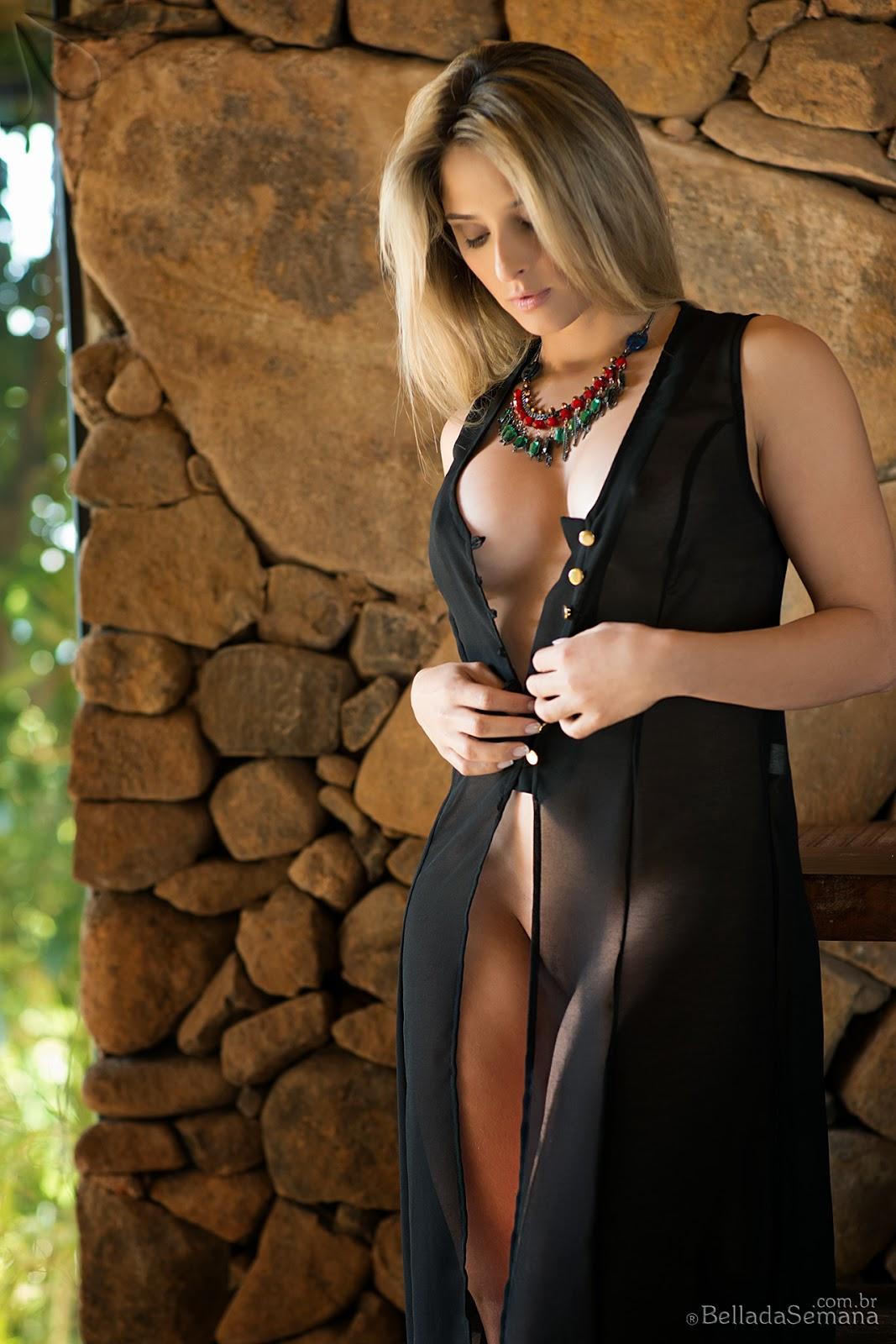 Rafaela Didea - Hot Blonde Brazilian Babe Naked for Bella ...