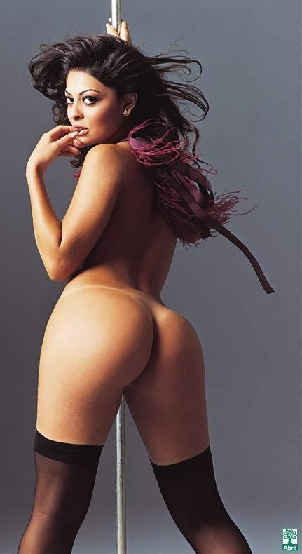 Brazilian girl naked perfect asses