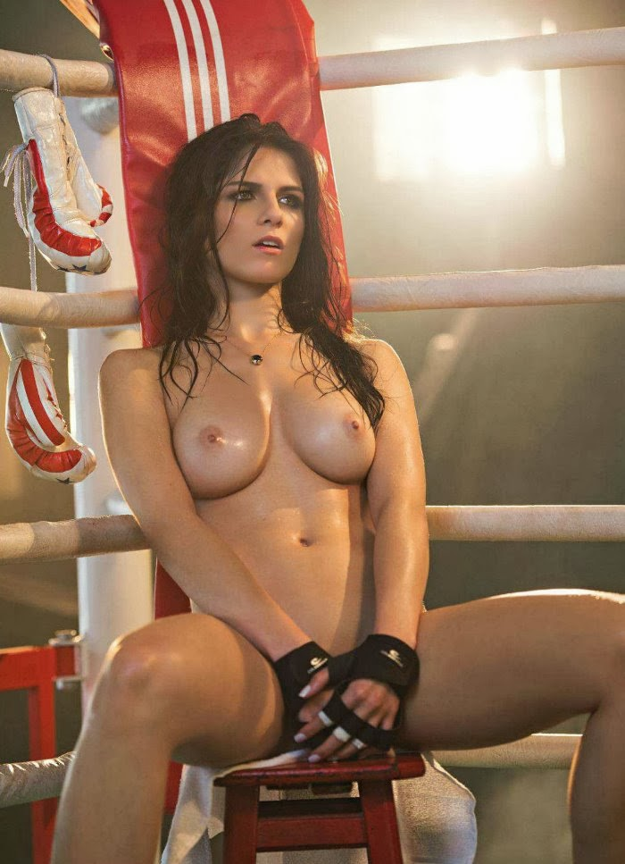 Ring girls hot nude