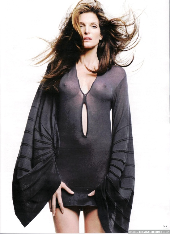 Stephanie seymour see through dress sorry, that